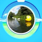 Pacman im Wasser