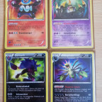 Alle 4 Shiny Secret Rare aus BW Kommende Schicksale NM Deutsch <3<3