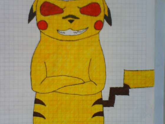 Pikachu  als Bad Boy^^
