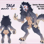 Tala ~ Reference Sheet (Werwolf)
