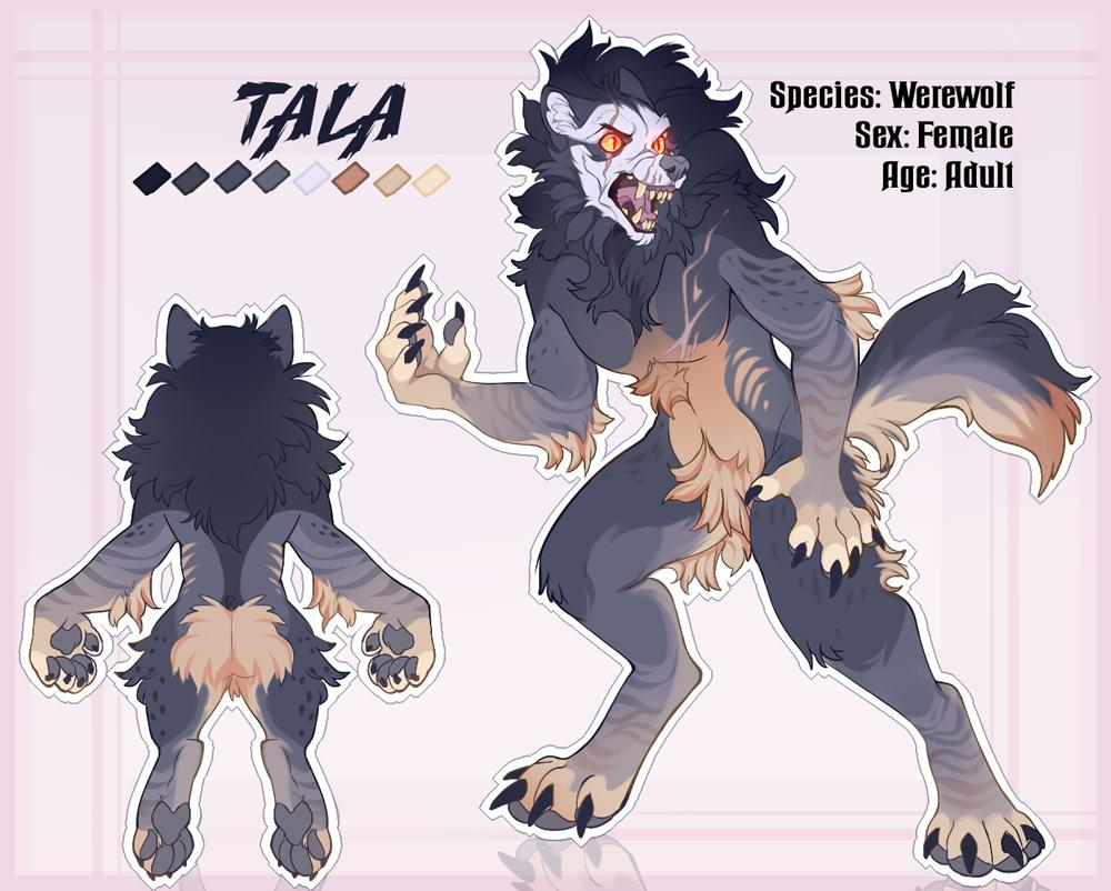 Tala ~ Reference Sheet (Werwolf)