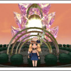 Die Sonnenuhr in Fluxia City
