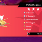 Shiny Karpador Raid — Neujahr-Event