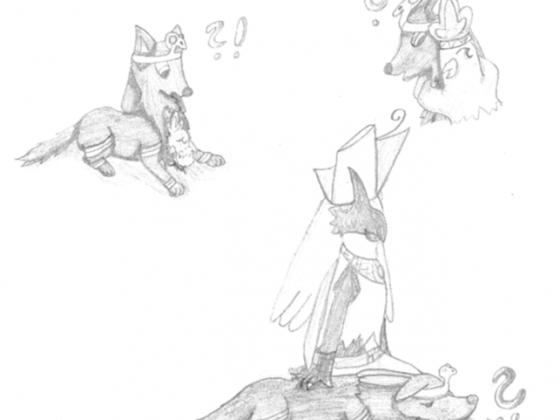 Horus und Anubis-Pokemon