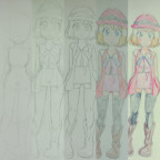 So zeichne ich - Beispielbild Serena c: