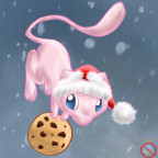 ce__mew_with_cookie_and_xmas_hat_by_shadowhatesomochao-d4g19q1