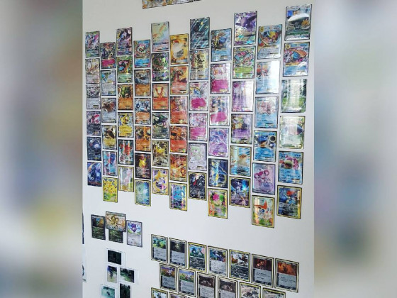 Meine Pokémon-Wand