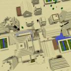 Minecraft - Pyramide und Dorf Bug