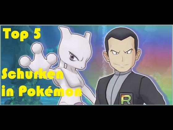 Top 5 Schurkenteams in Pokémon