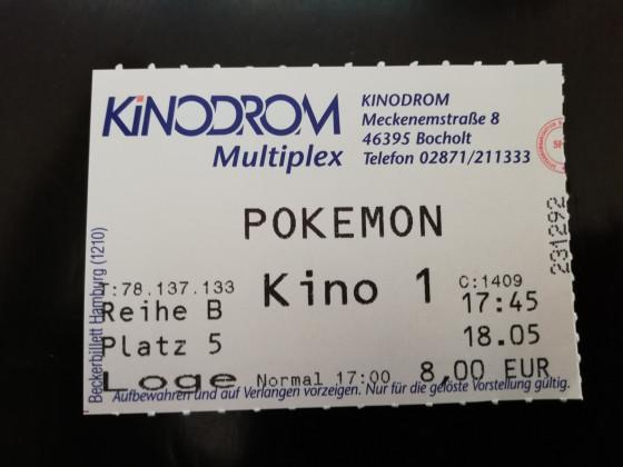 Ich gehe in irgend so nen Film namens POKEMON. Was ist dieses POKEMON?