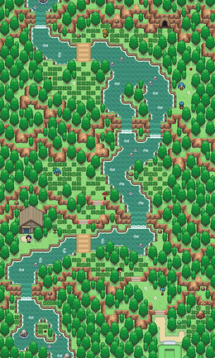 Waterf+u/a+ll Map