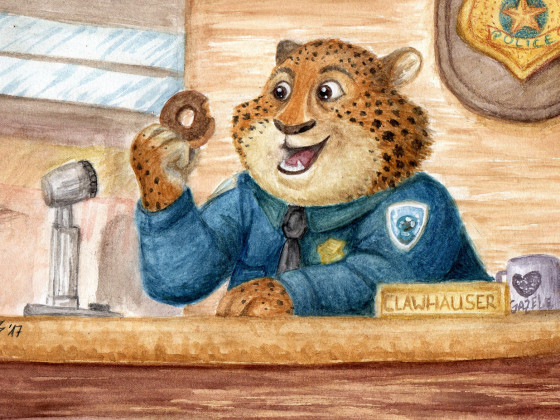 Clawhauser - Zoomania