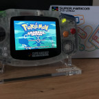 GAMEBOY ADVANCE SUPER FAMICOM CUSTOMIZED EDITION
