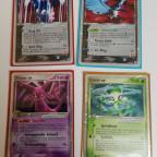 Neue alte ex Karten <3 2 Rocket, Psiana, Celebi Secret