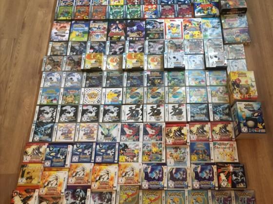 Pokémon Spielesammlung
