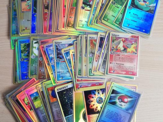 Full Set Reverse EX Rubin & Saphir - inklusive der Energie-Karten!