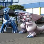 Pokémon-Day 2010 in Köln:  Dialga& Palkia