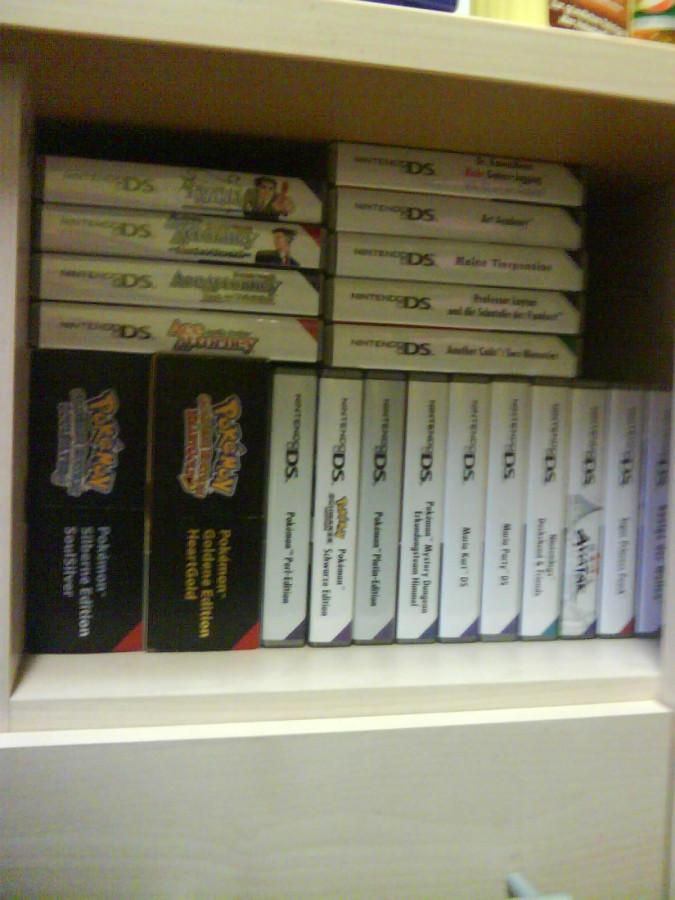 DS-Spiele. x3