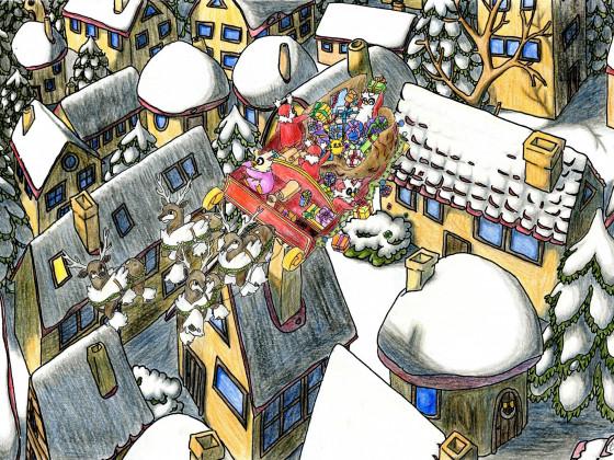 Weihnachts Fanart vom 24. Dezember.