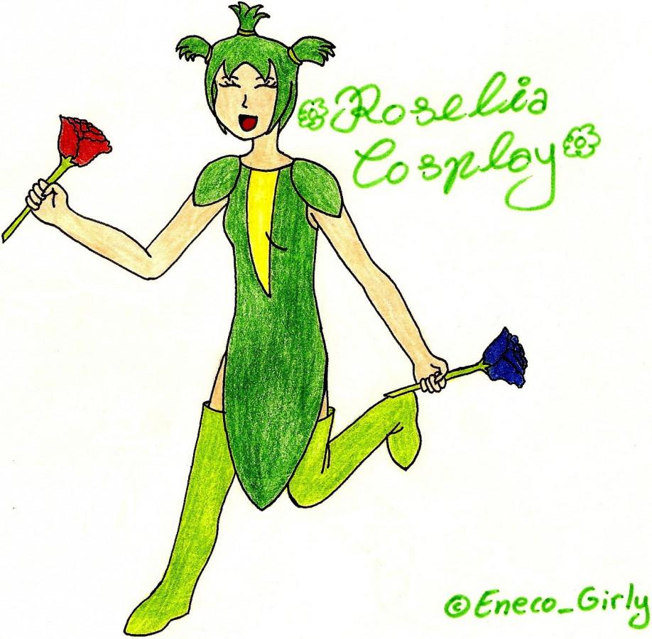 Mein Roselia-Cosplay