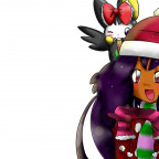 Iris und Emolga: Merry Christmas~