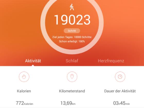 19.000 Schritte