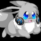 New Avatar shiny evoli mit Kopfhörer