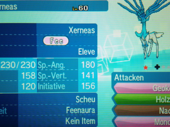 shiny Xerneas