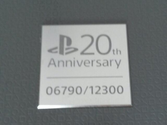 PS4 20th Anniversary (meins :-)