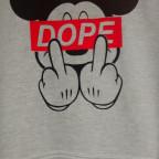 Das Team-T-Shirt von Team D.O.P.E