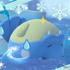 New Pokémon Snap - Rückenschwimmer