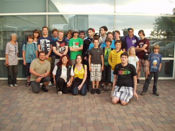 Worlds 2011 - Gruppenbild der deutschsprachigen Spieler