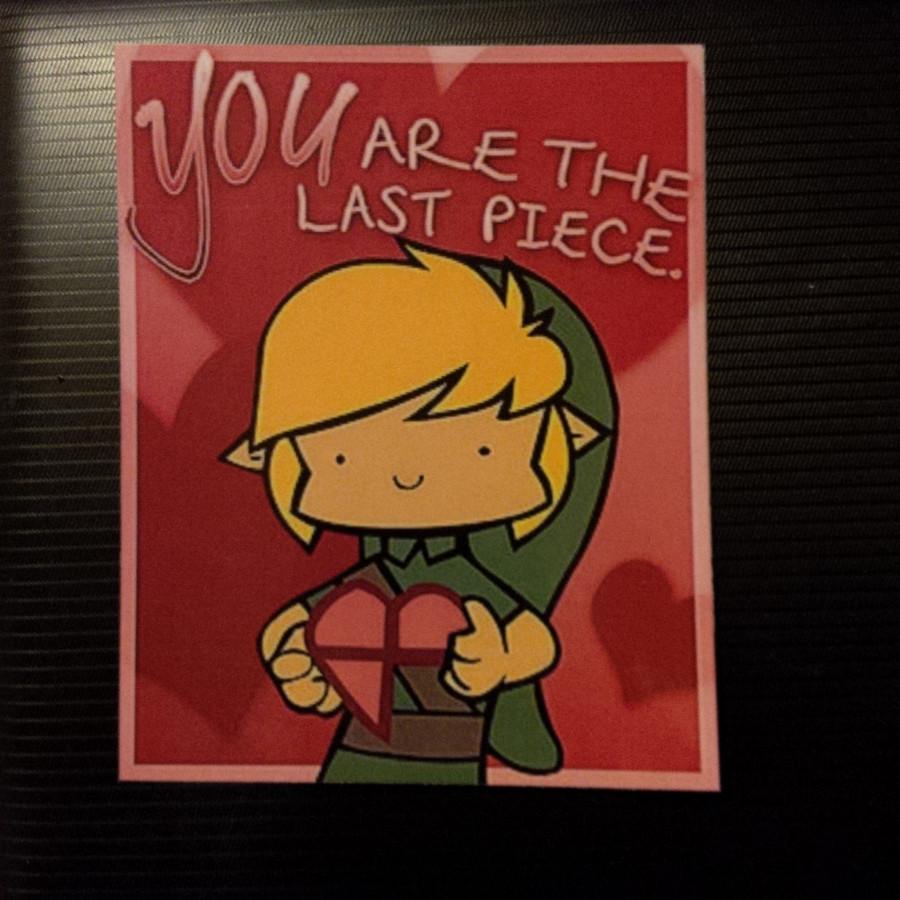 Weihnachtskarte von Link