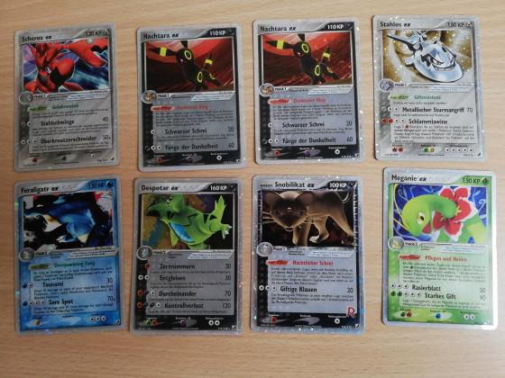 Neue ex Karten alter Sets <3