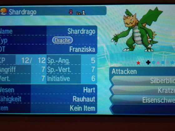Shiny Shardrago #1