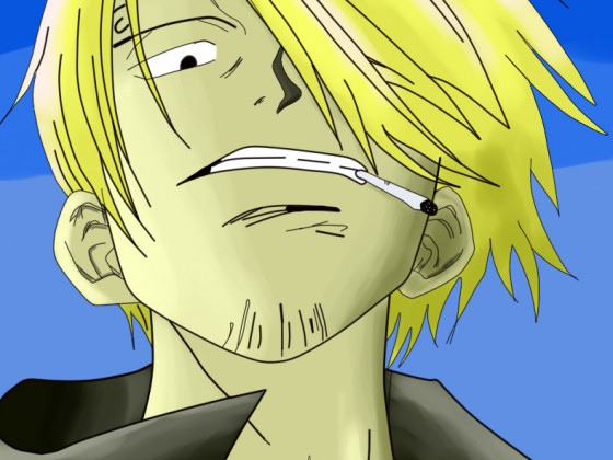 Sanji Colored