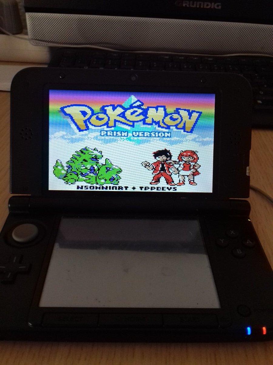 Pokemon Prism auf dem 3ds :D