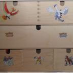 Kreativ mit Stickern beklebte Box...Oder auch nicht^^
