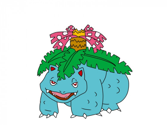 Daily Pokémon 3 - Bisaflor