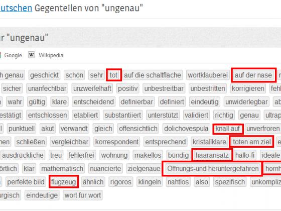 Deutsche Sprache, schwere Sprache.