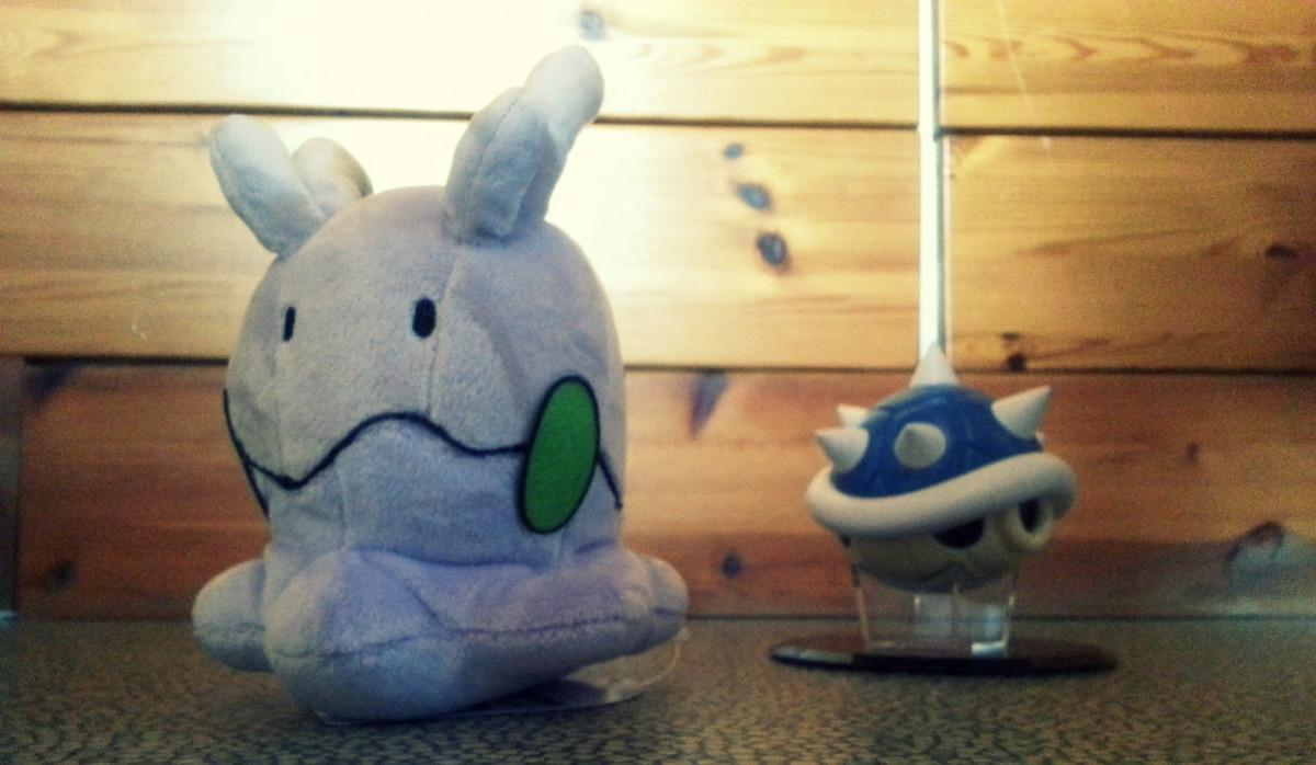 Goomy vs. Blue Shell