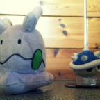 Goomy vs. Blue Shell