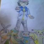 Ash und seine Pokémon