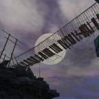 Ramponierte Brücke