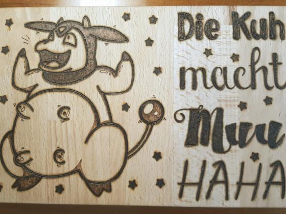 Die Kuh macht MUUHAHA!