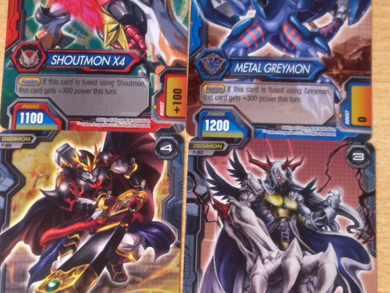 Digimon Xros Wars Karten