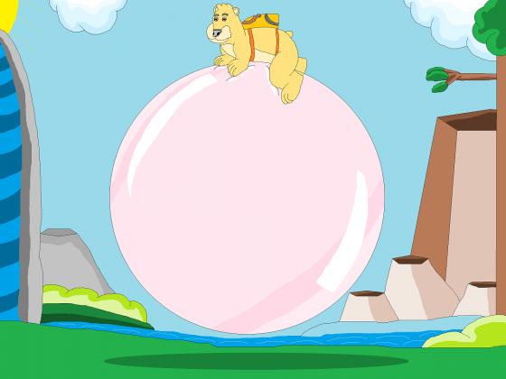 Großes Abenteuer auf der Großen Kaugummiblase
