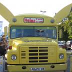 Pokémon-Day 2010 in Köln: Der Pikachu-Bus
