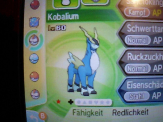 Shiny Kobalium (14std. resettet)