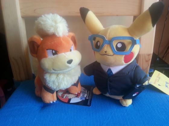 Fukano & Pikachu